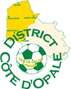 DISTRICT COTE D'OPALE  DE FOOTBALL